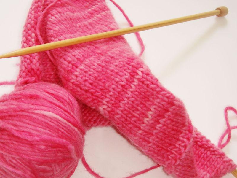 PinkKnitting