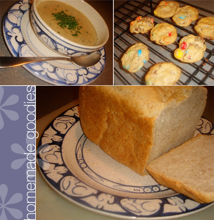 Homemadesoupbreadcookies